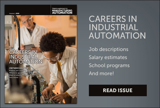 <center>Careers in Industrial Automation: A new resource guide </center>