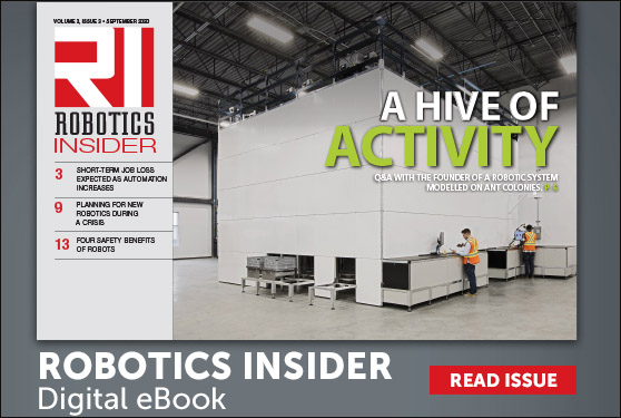<center>The September 2020 edition of Robotics Insider is now available!</center>