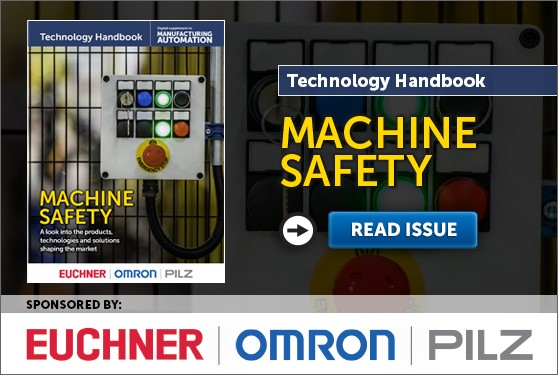 Manufacturing AUTOMATION presents the Machine Safety Technology Handbook