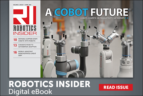 <center>The April 2021 edition of Robotics Insider is live now!</center>