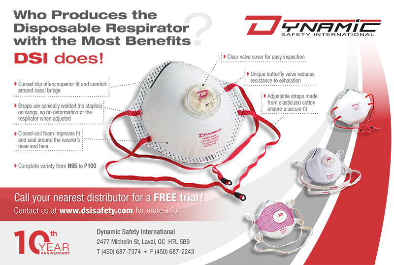 Who Produces the Disposable Respirator<br> with the Most Benefits?