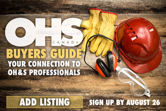 Get Listed in Canada's Best OH&S Buyers Guide