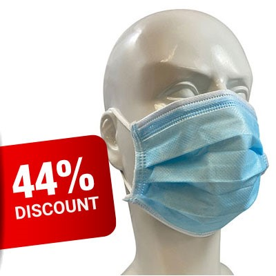 4-Ply Disposable Barrier Mask