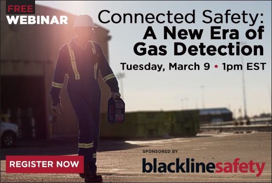 Free Webinar:<br> Connected Safety — A New Era Of Gas Detection
