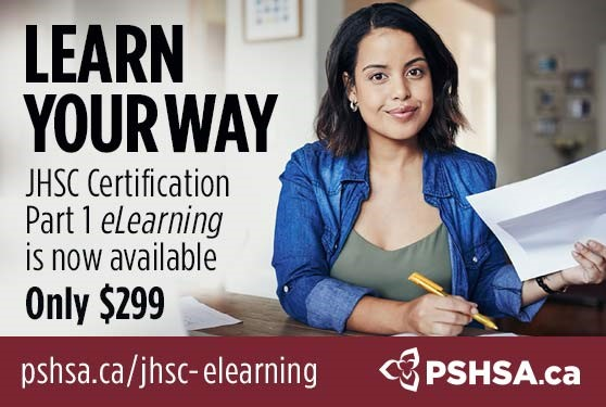 Get Certified Safely at Home - JHSC Part 1 Certification eLearning Now Available