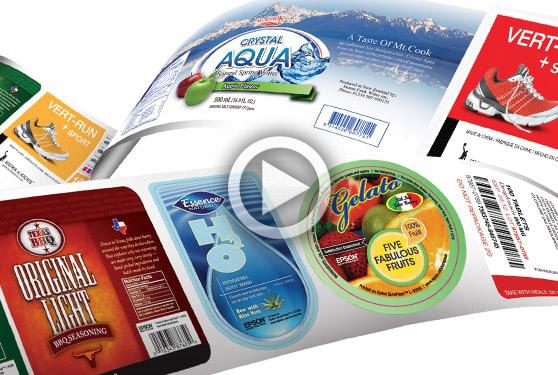 Epson<sup>®</sup> high-quality, UV, linehead, inkjet label press begins a new era.