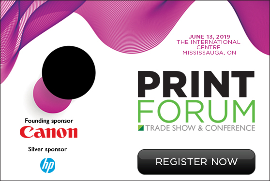 PrintForum 2019 set for June 13 in Mississauga