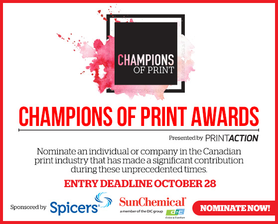 <b>Nominate a Champion of Print today!</b>