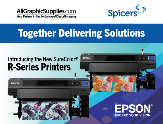 The First Epson Signage Printer to Feature<br> Multi-Purpose Resin Ink.