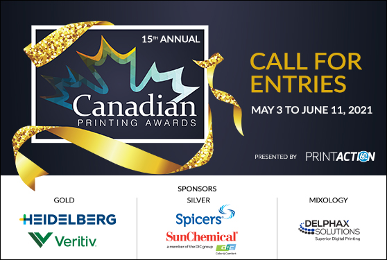 <b>15th Annual Canadian Printing Awards</b>