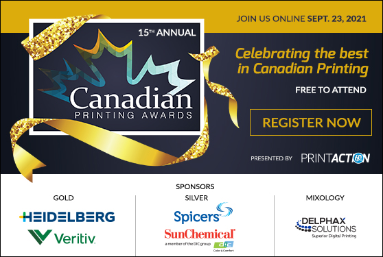 <b>A celebration of excellence and innovation in Canadian printing</b>