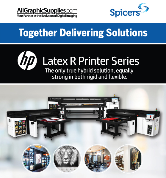 Spicers and All Graphic Supplies Together Providing Solutions