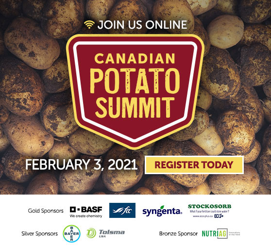 Register today for the Canadian Potato Summit
