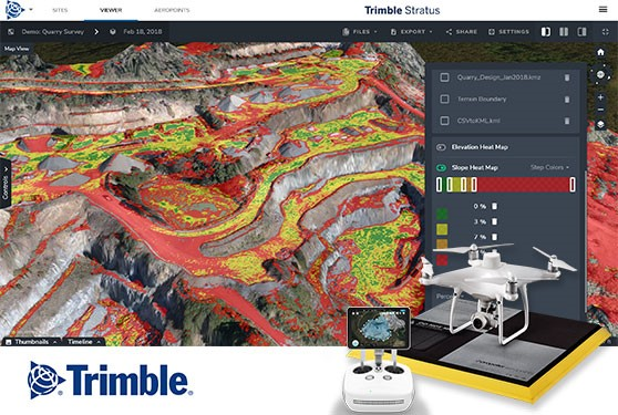 Data-Driven Decisions with Trimble Stratus Drone Processing Solutions