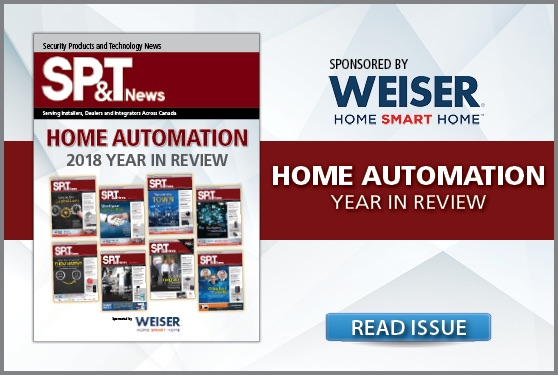 <i>SP&T News</i> Home Automation 2018 Year in Review - Sponsored by Weiser