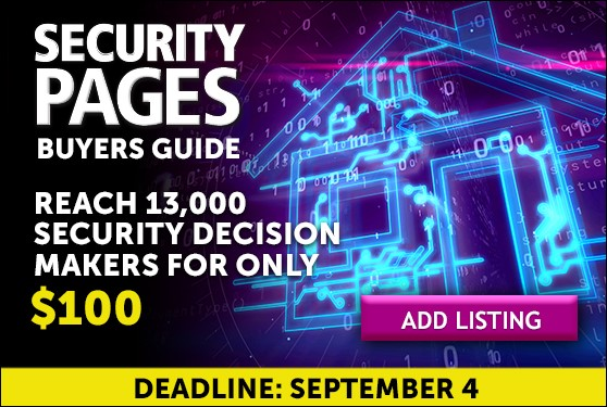 Canada's Only Security Industry Buyers Guide