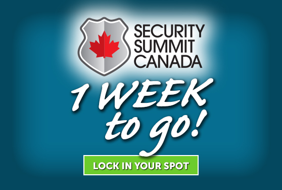 Security Summit Canada is just over a week away!