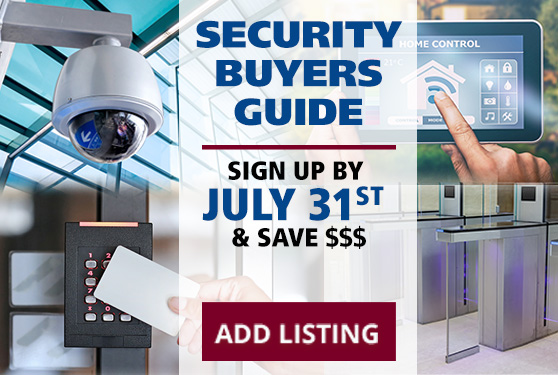 <b>Get Listed in Canada's Only Security Industry Buyers Guide</b>
