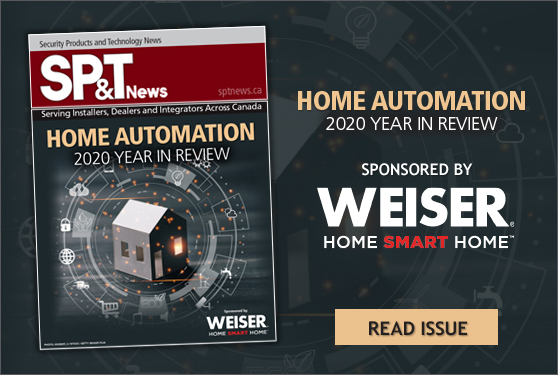 <b><i>SP&T News</i> Home Automation 2020 Year in Review - Sponsored by Weiser</b>