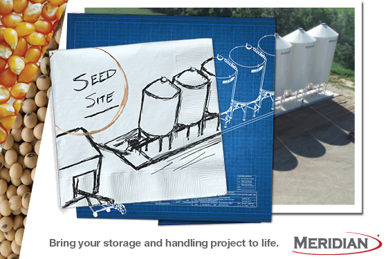 Plan your next seed site with Meridian.