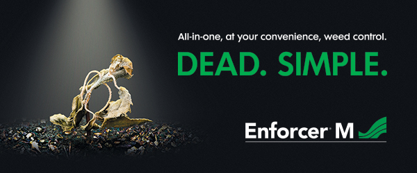 Enforcer M: All-in-one, at your convenience, weed control.