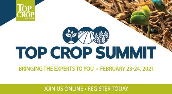 Last chance: Register for the Top Crop Summit today!