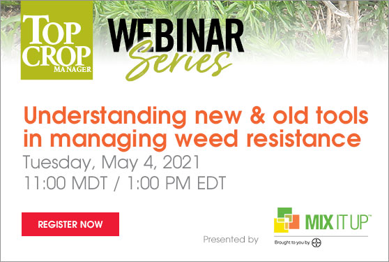 Understanding new and old tools in managing weed resistance