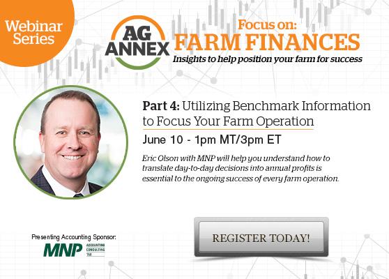 Focus On: Farm Finances Webinar Series