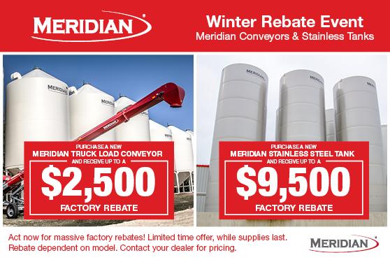 Massive Winter Savings from Meridian!