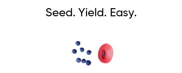 Seed. Yield. Easy.