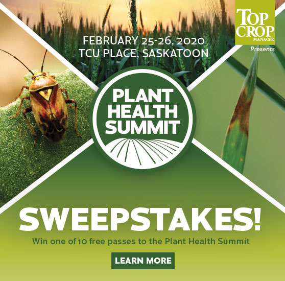 Last chance to win your entry with the Plant Health Summit Sweepstakes!