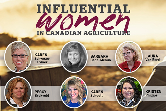 Introducing the 2020 Influential Women in <br>Canadian Agriculture