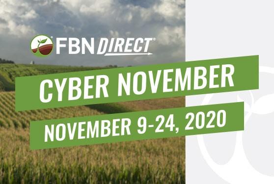 <center>FBN Direct<sup>®</sup> Cyber November Sale<br>November 9-24, 2020</center>