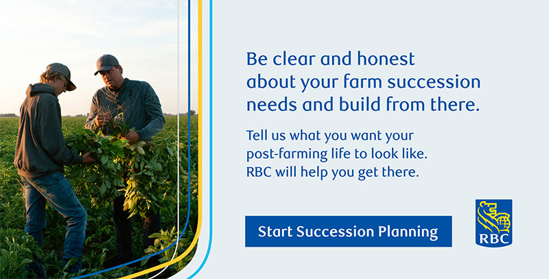 Be clear and honest about your farm succession needs and build from there.