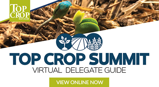 Keep track of what you learn at the Top Crop Summit with our virtual show guide