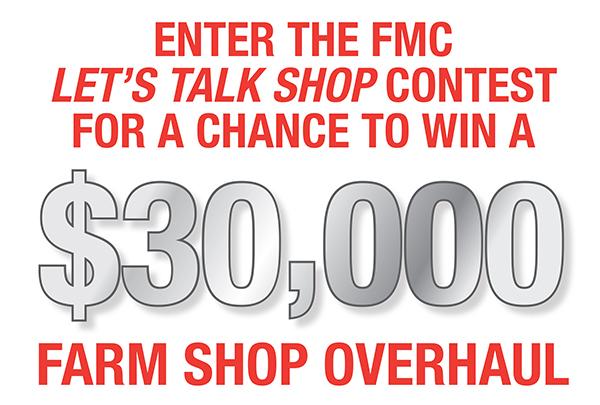 ENTER THE FMC LET'S TALK SHOP CONTEST