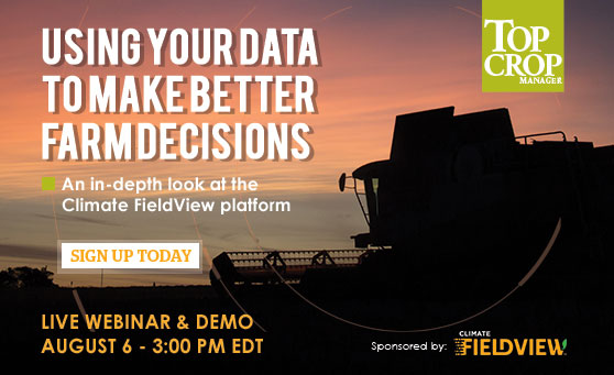 Live Webinar: <br>Using your data to make better farm decisions
