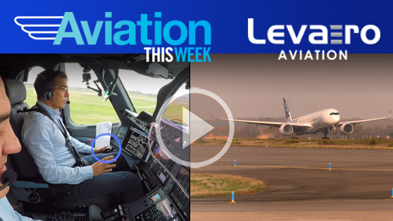 An A350-1000 leverages image recognition technology for automated take-off